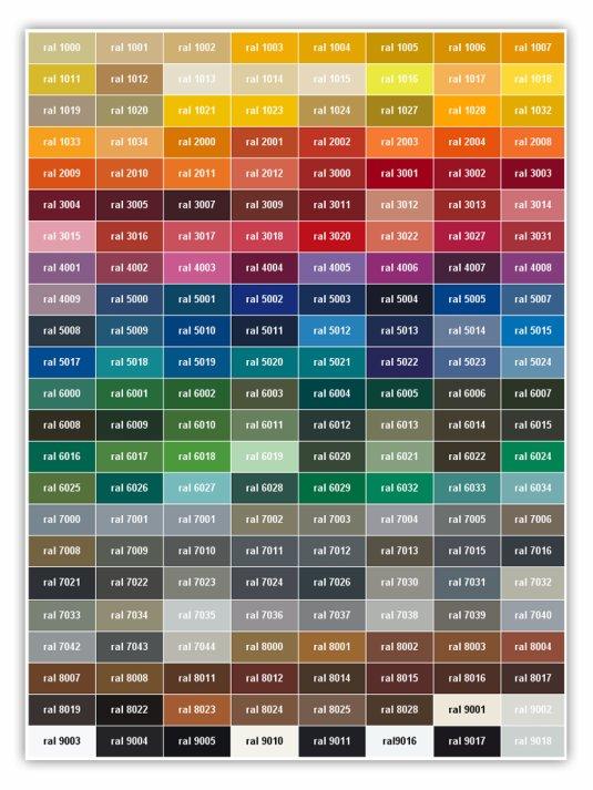 Fortress Fusion Coatings Inc Colors